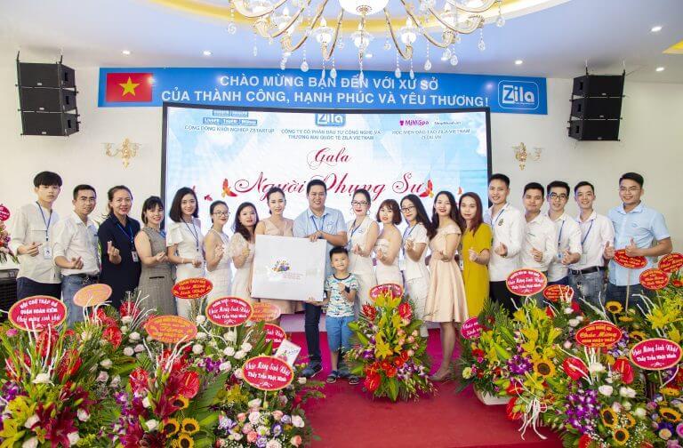 Văn phòng Zila Vietnam và chủ tịch Trần Nhật Minh