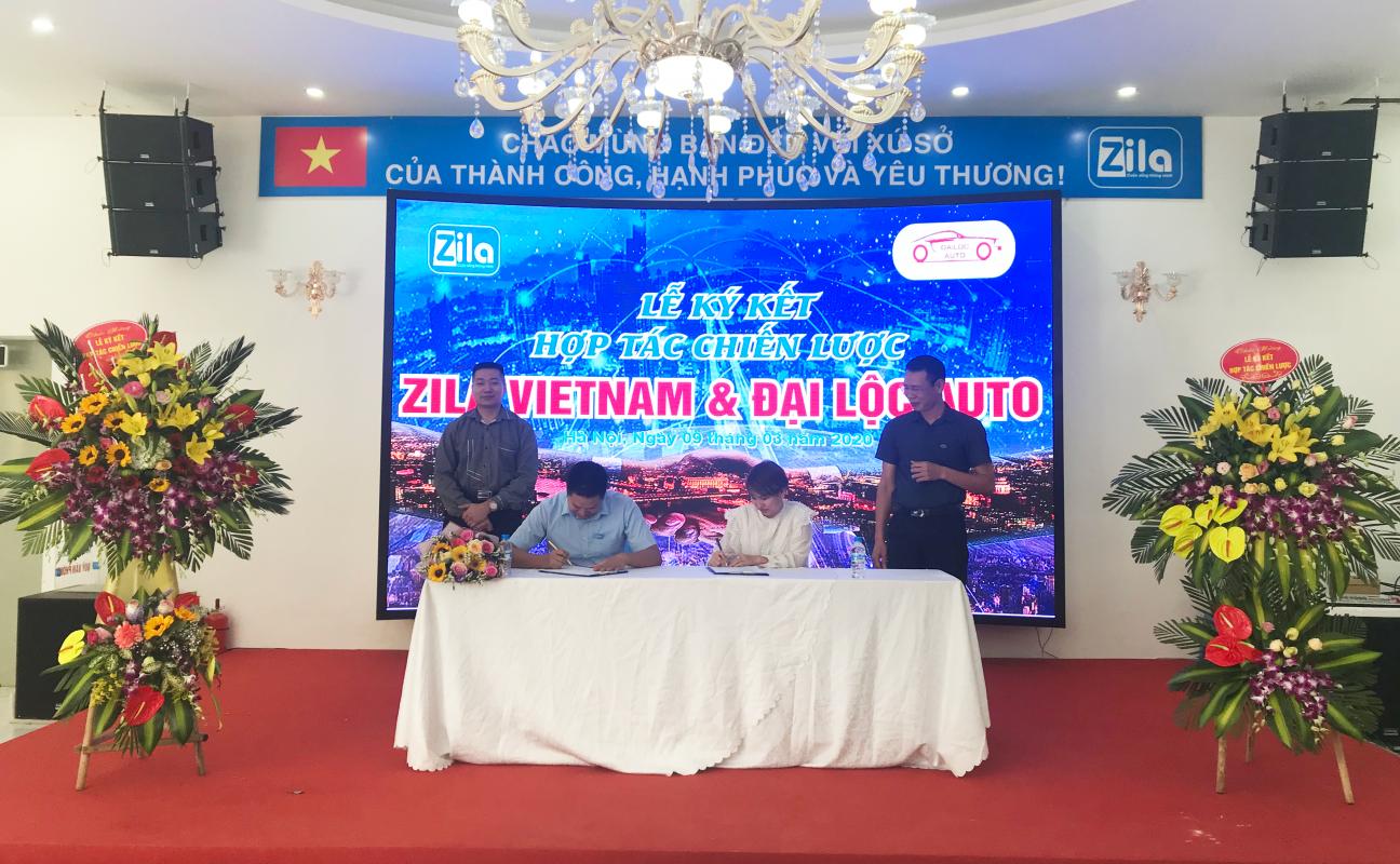 Ký kết hợp tác giữa Zila và Auto Đại Lộc