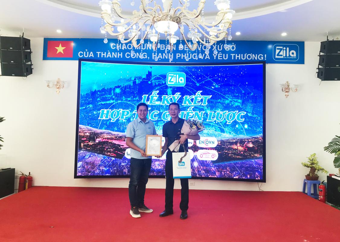 Zila Vietnam ký kết hợp tác với ENCOVN