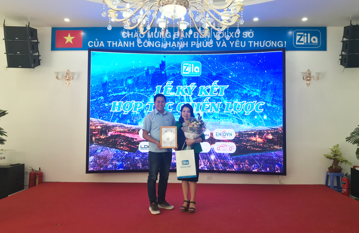 Ký kết hợp tác giữa Zila Vietnam và THL