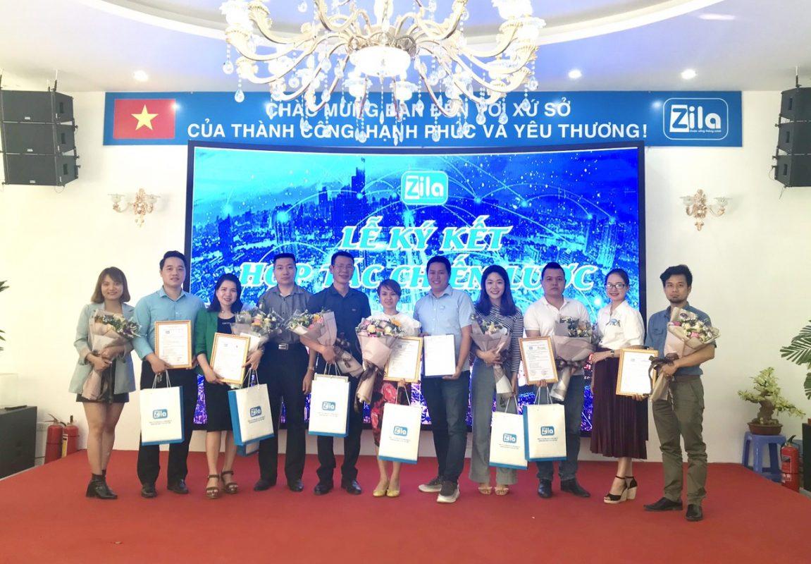 Ký kết hợp tác giữa Zila Vietnam ký kết hợp tác chiến lược với 7 doanh nghiệp đối tác