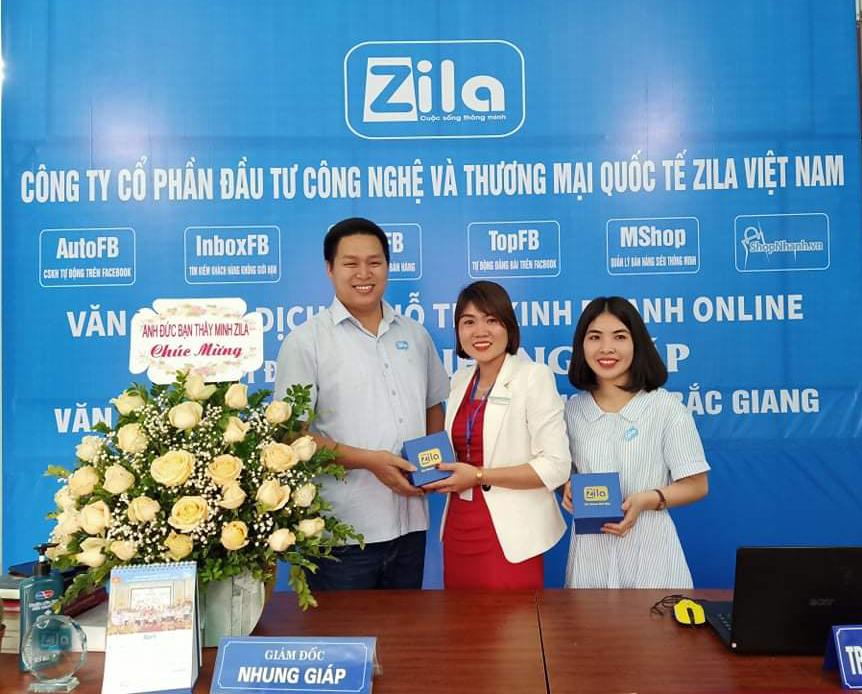 Khai trương văn phòng đại diện Zila Vietnam