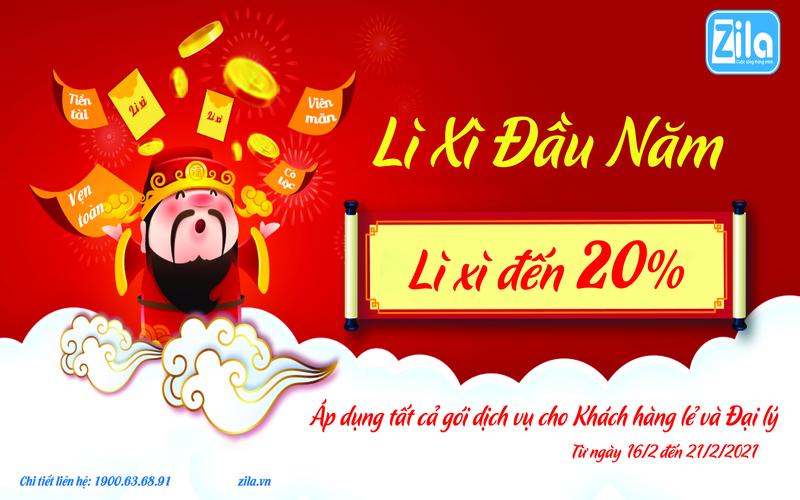 Zila Vietnam Lì Xì Đầu Xuân 2021