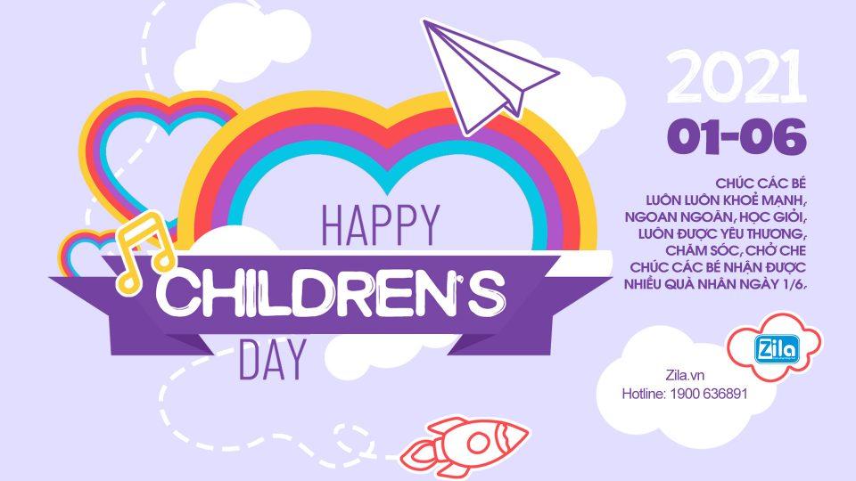 Zila Vietnam Mừng ngày Quốc tế Thiếu nhi