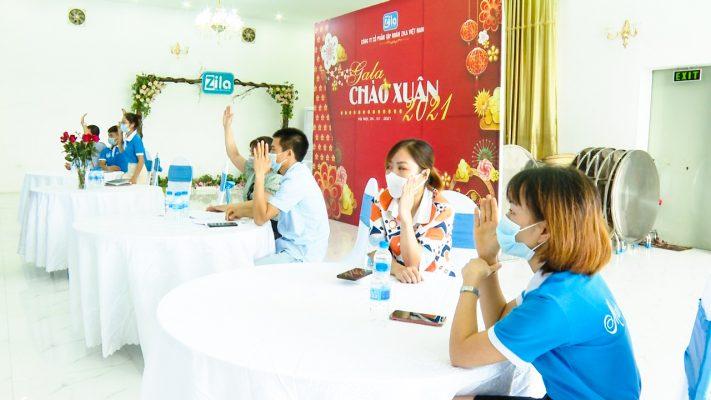 Người lao động Công ty tham gia buổi lễ