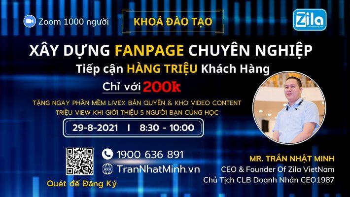 Khóa học Fanpage triệu khách hàng